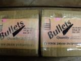 45/70 300 GR FP HARDCAST BULLETS BY KWIK DRAW. 250 CT PER BOX.- I PAY SHIPING - 2 of 2