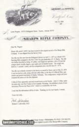 REAL SHARPS Model 1874 Buffalo Gun Nebraska - 9 of 12