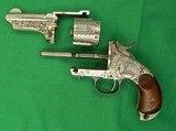 MERWIN HULBERT 2nd Model Pocket ArmyEngraved 44-40 Caliber - 7 of 7