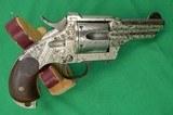 MERWIN HULBERT 2nd Model Pocket ArmyEngraved 44-40 Caliber - 3 of 7