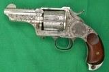 MERWIN HULBERT 2nd Model Pocket ArmyEngraved 44-40 Caliber