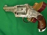 MERWIN HULBERT 2nd Model Pocket ArmyEngraved 44-40 Caliber - 2 of 7