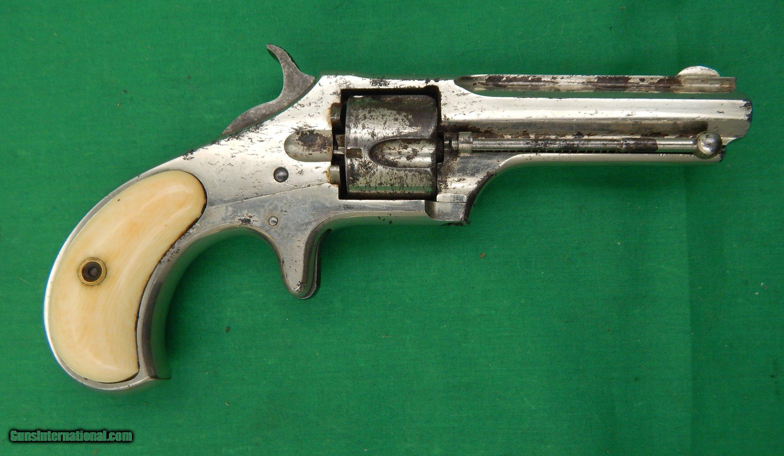Remington Smoot New Model No  1 Revolver, 30 Rimfire Short