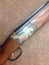 Beretta Custom 686, 12 gauge , color-case hardened with straight grip stock