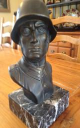 WW1 German Soldier Bust