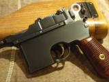 MAUSER BROOMHANDLE.1899 ITALIAN NAVY CONTRACT, WITH STOCK.EXTREMELY RARE!!!! - 3 of 12