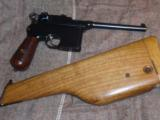 MAUSER BROOMHANDLE.1899 ITALIAN NAVY CONTRACT, WITH STOCK.EXTREMELY RARE!!!! - 2 of 12