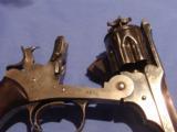 WEBLEY MODEL 1889 .455 BRITISH TARGET REVOLVER. ORIGINAL WEBLEY CUSTOM-ORDER