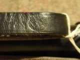"""GERMAN POLICE BATON (WWII?).LEATHER-COVERED.LEATHER BELT LOOP AND WRIST-STRAP.18 1/2"""" LENGTH.MARKED """"SA/77"""".NIGHT STICK.BIL - 7 of 7"""