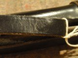 """GERMAN POLICE BATON (WWII?).LEATHER-COVERED.LEATHER BELT LOOP AND WRIST-STRAP.18 1/2"""" LENGTH.MARKED """"SA/77"""".NIGHT STICK.BIL - 6 of 7"""