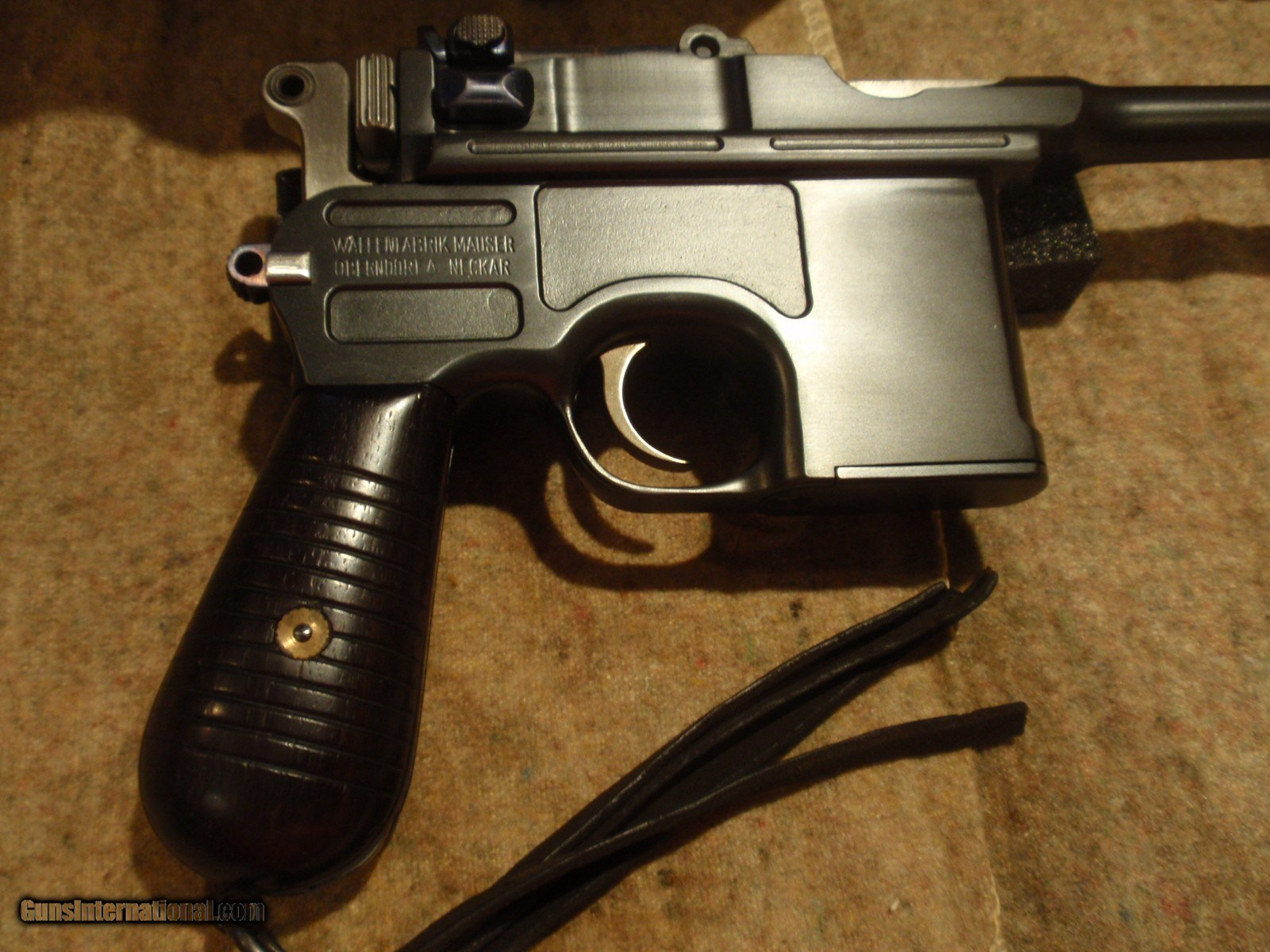 c96 broomhandle mauser 9mm 180mmbbl presentation engraved extra