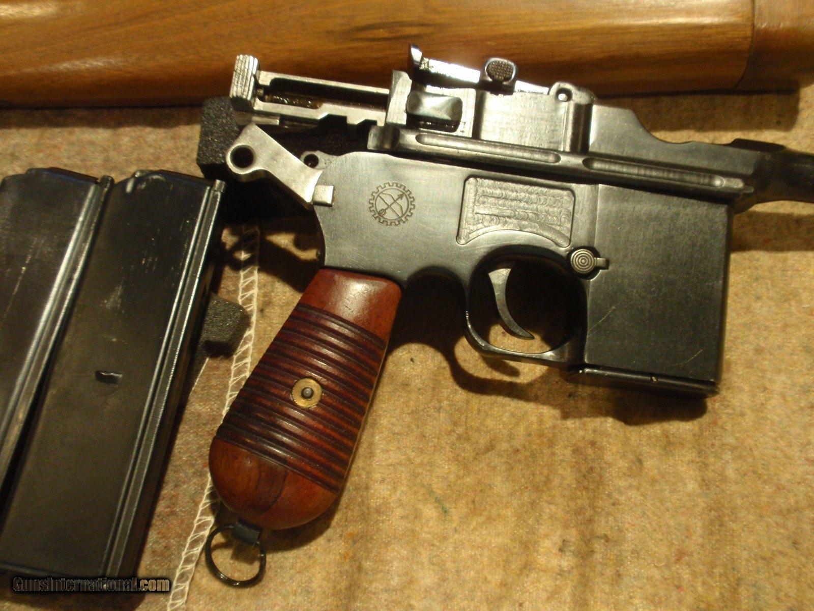 c96 broomhandle model 1930 detachable magazine 9mm chinese arsenal