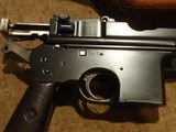 ASTRA 900BOLO GRIPHOPE CHAMBERSERIAL #110X.7.63mm140mm BBL.MATCHING DRAGON-CARVED STOCK - 4 of 13