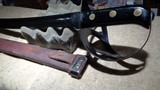 WWII 1917 US NAVAL CUTLASS WITH ORIGINAL SCABBARD.MODEL 1941 DUTCH KLEWANG.EXCELLENT+++, ORIGINAL CONDITION!! - 5 of 12