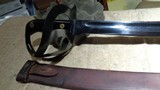 WWII 1917 US NAVAL CUTLASS WITH ORIGINAL SCABBARD.MODEL 1941 DUTCH KLEWANG.EXCELLENT+++, ORIGINAL CONDITION!! - 4 of 12