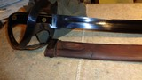 WWII 1917 US NAVAL CUTLASS WITH ORIGINAL SCABBARD.MODEL 1941 DUTCH KLEWANG.EXCELLENT+++, ORIGINAL CONDITION!! - 1 of 12