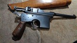 ASTRA 900BOLO GRIPHOPE CHAMBERSERIAL #38XC.19277.63MM140MM BBL.MATCHING STOCK.VERY EARLY & EXTREMELY RARE! - 8 of 14