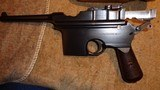 ASTRA 900BOLO GRIPHOPE CHAMBERSERIAL #38XC.19277.63MM140MM BBL.MATCHING STOCK.VERY EARLY & EXTREMELY RARE! - 2 of 14