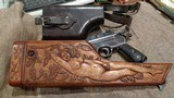 ASTRA 900 BOLO GRIP HOPE CHAMBERSERIAL #12X CIRCA 1927. UNIQUE, CARVED NUDE WOMAN WITH OAK LEAVES & VINES WALNUT STOCK.FANTASTIC, EXTREMELY RARE!! - 11 of 15