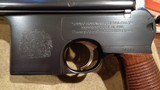 """ASTRA 900 BROOMHANDLEBRITISH PROOFS.BRITISH CREST.SPECIAL-ORDER 180MM BARREL.MATCHING """"VINE & SCROLL"""" CARVED STOCK.EXTREMELY RARE! - 2 of 12"""