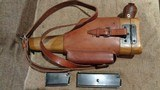 C96 BROOMHANDLE MODEL 1930 DETACHABLE MAGAZINE 9MMW/MATCHING STOCK & LEATHER HARNESSNORINCO ARSENAL SPECIAL-ORDER - 2 of 13