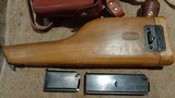 C96 BROOMHANDLE MODEL 1930 DETACHABLE MAGAZINE 9MMW/MATCHING STOCK & LEATHER HARNESSNORINCO ARSENAL SPECIAL-ORDER - 3 of 13