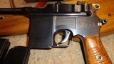 C96 BROOMHANDLE MODEL 1930 DETACHABLE MAGAZINE 9MMW/MATCHING STOCK & LEATHER HARNESSNORINCO ARSENAL SPECIAL-ORDER - 5 of 13