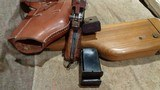 C96 BROOMHANDLE MODEL 1930 DETACHABLE MAGAZINE 9MMW/MATCHING STOCK & LEATHER HARNESSNORINCO ARSENAL SPECIAL-ORDER - 12 of 13