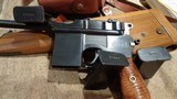 C96 BROOMHANDLE MODEL 1930 DETACHABLE MAGAZINE 9MMW/MATCHING STOCK & LEATHER HARNESSNORINCO ARSENAL SPECIAL-ORDER - 9 of 13