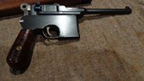 MAUSER C96 BROOMHANDLEITALIAN NAVY CONTRACT #71X.MATCHING STOCK.EXTREMELY EARLY PRODUCTION!!EXCELLENT CONDITION!!EXTREMELY RARE!!! - 12 of 13