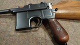 "MAUSER C96 BROOMHANDLE ""MAUSER BANNER"" SERIAL #921XX