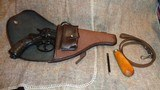 1895 NAGANT RUSSIAN REVOLVER.