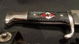 WWII WW2 NAZI HITLER YOUTH KNIFE w/SCABBARDRZM M7/13HITLER YOUTH KNIFEWWII NAZI YOUTH KNIFERWW2 HITLER YOUTH KNIFEEXCELLENT CONDITION!!! - 2 of 8