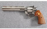 Colt ~ Python Electroless Nickel W/Extra Barrel ~ .357 S&W Mag - 2 of 3