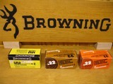 BROWNING .22 CAL. COLLECTIBLE AMMO CARTON FOR 500 CARTRIDGES FOR 10 BOXES OF 50 - COLLECTIBLE - HARD TO FIND OR RARE