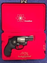 Smith & Wesson 340PD Air Lite Sc, 357 Magnum, With Case