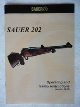 Sauer 202 Classic XT in 6.5x55 or 9.3x62 - 14 of 15