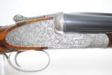 DANIEL PERAZZI DHO SIDELOCK 12 GAUGE PIGEON GUN - TWO BARREL SET - LUSSO GRADE - 1 of 23