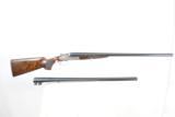 DANIEL PERAZZI DHO SIDELOCK 12 GAUGE PIGEON GUN - TWO BARREL SET - LUSSO GRADE - 8 of 23