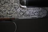 DANIEL PERAZZI DHO SIDELOCK 12 GAUGE PIGEON GUN - TWO BARREL SET - LUSSO GRADE - 4 of 23