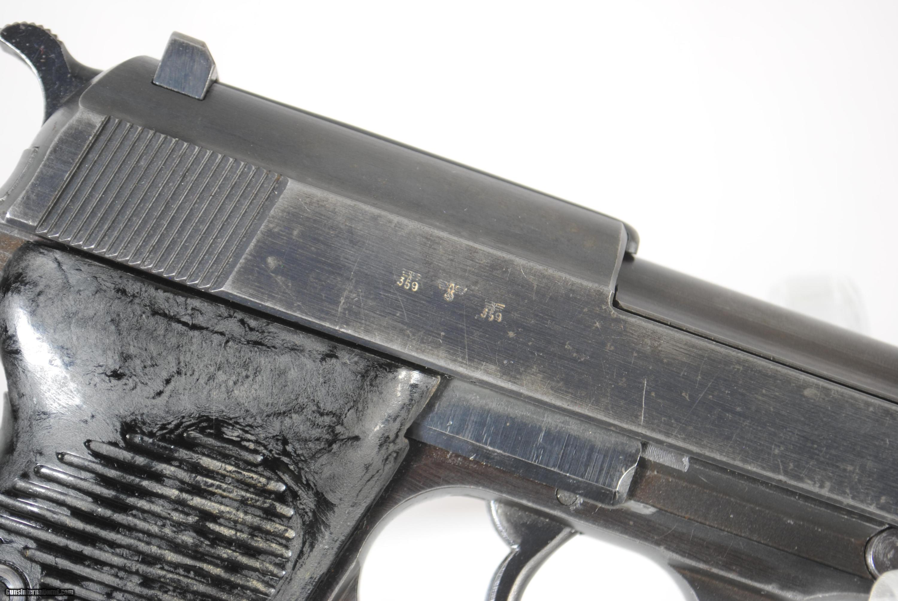 WALTHER P-38 MADE IN 1942 - SALE PENDING