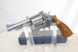 SMITH & WESSON MODEL 67 - STAINLESS - 38 SPECIAL