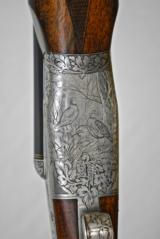 TERRACE SMITH - LATE OF BOSS - 12 GAUGE TWO BARREL SET - HUEY OAK AND LEATHER CASED