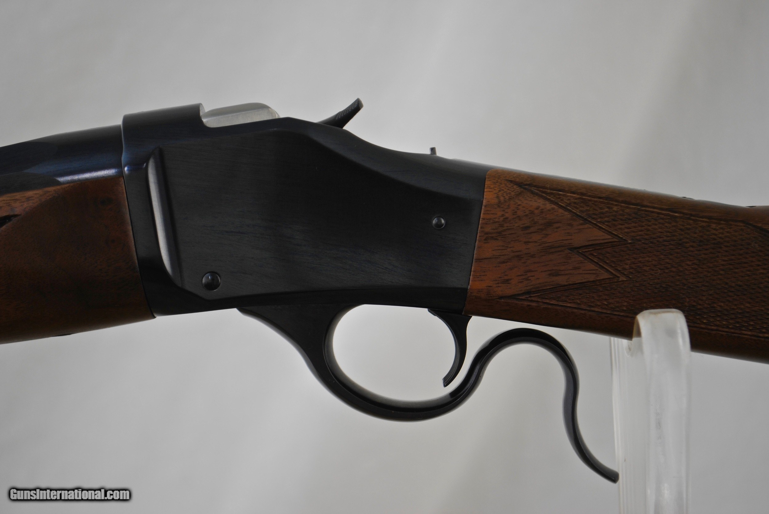 WINCHESTER 1885 HUNTER IN 6 5 CREEDMORE - CUSTOM SKINNER PEEP SIGHT