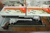 "COLT SINGLE ACTION PAIR - 7 1/2"" NICKLE - IN BOXES - CONSECUTIVE SERIAL NUMBERS - SALE PENDING"