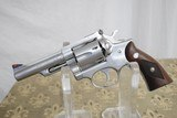 """RUGER SECURITY SIX IN 357 - 4"""" BARREL - STAINLESS STEEL"""