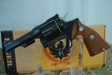 RUGER SECURITY SIX IN 357 MAGNUM - BLUE - MINT WITH BOX