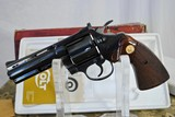 COLT DIAMONDBACK IN 38 SPECIAL - MINT CONDITION WITH ORIGINAL BOX