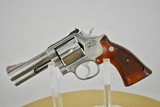 SMITH & WESSON 686 (NO DASH) - MINT WITH WELL FIGURED WOOD GRIPS - SALE PENDING