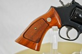 SMITH & WESSON MODEL 19-6 - 357 MAGNUM - WELL FIGURED GRIPS - 4 of 12